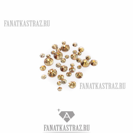Swarovski Metallic Sunshine микс размеров